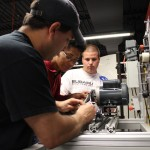 South Piedmont Community College Advanced Manufacturing Students