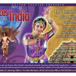 Dances of India 2011 - event poster